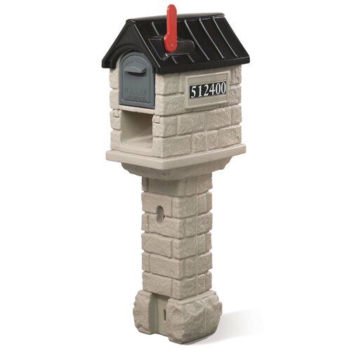 MailMaster Stone Hill Plus Post Mounted Mailbox
