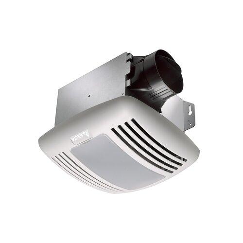 BreezGreenBuilder 100 CFM Energy Star Bathroom Fan with Light
