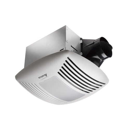 110 CFM Energy Star Exhaust Bathroom Fan with Night Light