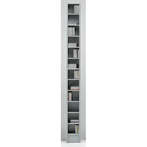 Wildon Home ® CD Multimedia 12-Shelf Storage Rack