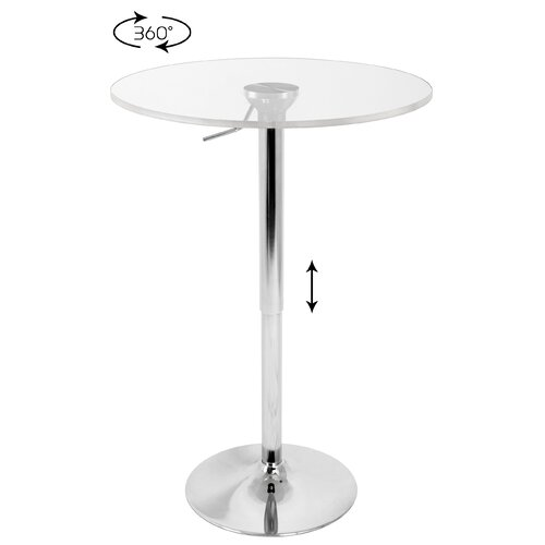 Adjustable Height Pub Table