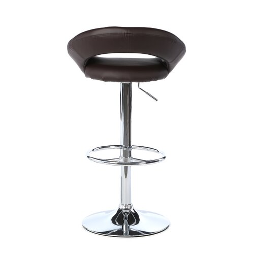 "LumiSource 24"" Adjustable Bar Stool with Cushion"