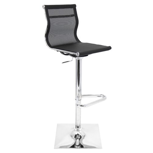 LumiSource Mirage Adjustable Height Bar Stool amp Reviews  : LumiSource Mirage Adjustable Height Bar Stool from www.wayfair.com size 500 x 500 jpeg 17kB