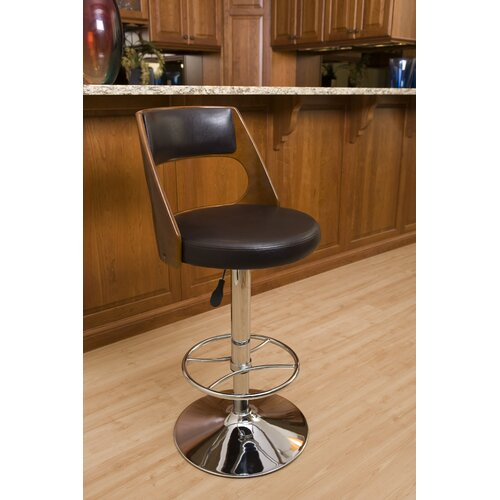 "LumiSource 33"" Adjustable Swivel Bar Stool"