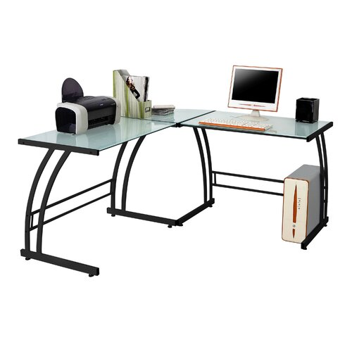 LumiSource Gamma Corner Writing Desk