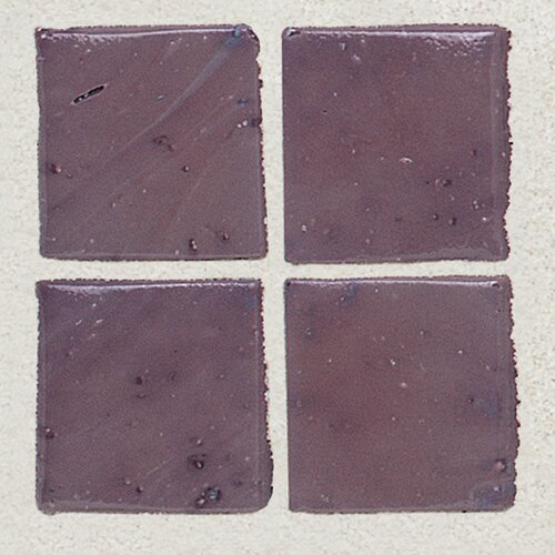 "Daltile Sonterra Collection 1"" x 1"" Opalized Mosaic Tile in Purple"