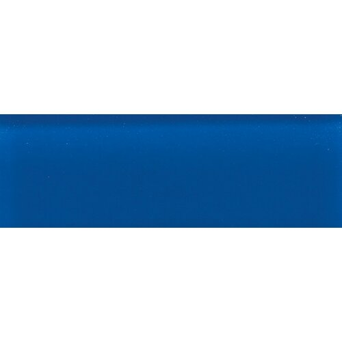 "Daltile Glass Reflections 4-1/4"" x 12-3/4"" Glossy Wall Tile in Stratosphere Blue"