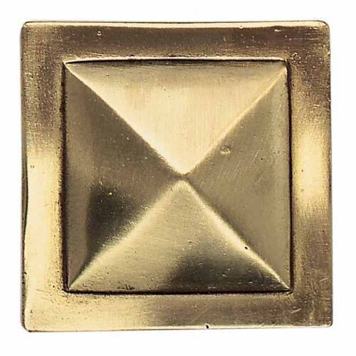 "Daltile Massalia 2"" x 2"" Decorative Pinnacle Accent in Bullion"