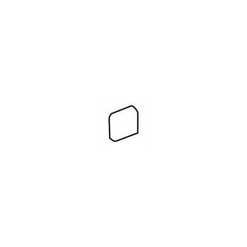 """Daltile Sandalo 2"""" x 2"""" Radius Bullnose Corner Tile Trim in Serene White"""