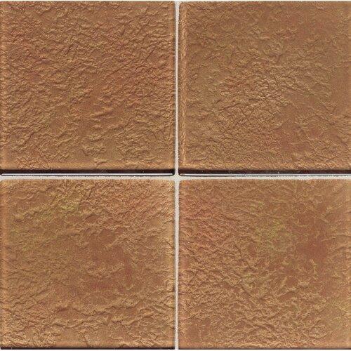 """Daltile Molten Glass 2"""" x 2"""" Wall Tile in Copper Mine"""