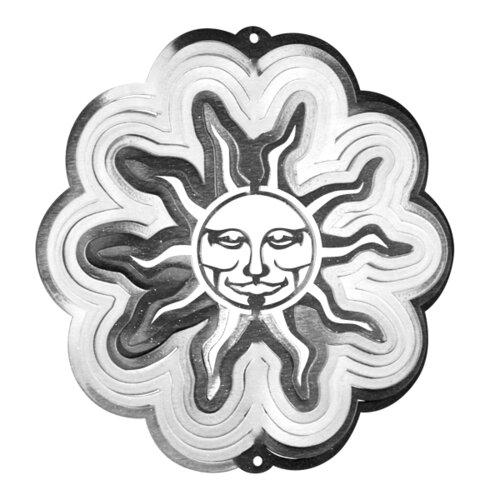Iron Stop Sun Wind Spinner