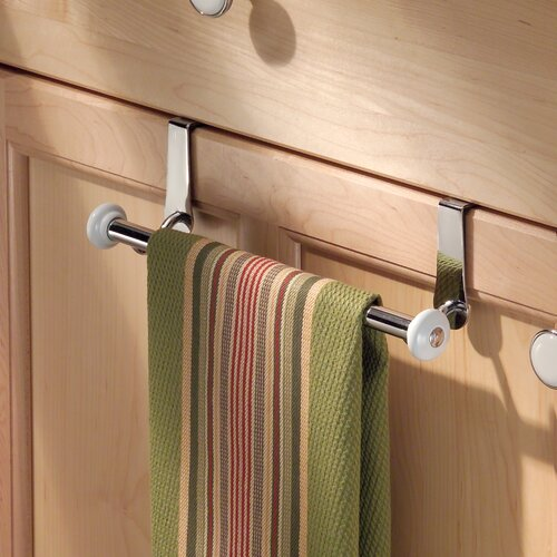 InterDesign York Over-the-Door Towel Bar