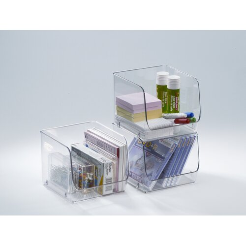 InterDesign Medium Stacking Organizer Bin