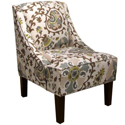 Skyline Furniture Silsila Swoop Arm Chair & Reviews