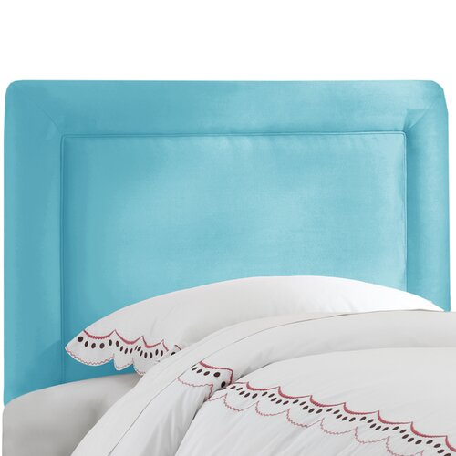 Skyline Furniture Border Micro-Suede Upholstered Headboard