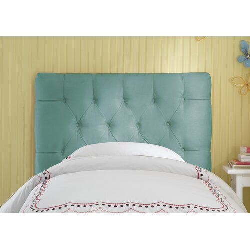Skyline Furniture Tufted Micro-Suede Upholstered Headboard