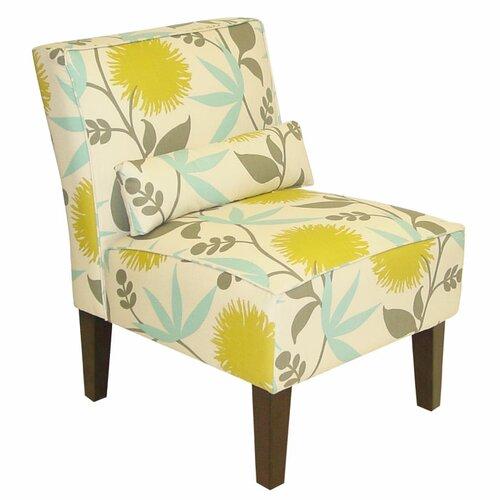 Skyline Furniture Floral Slipper Chair
