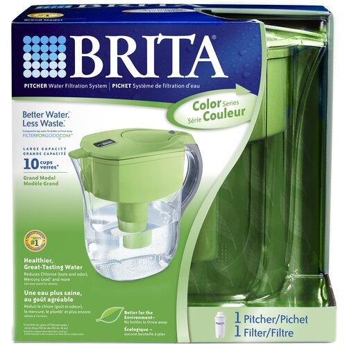Brita Green Grand Pitcher Water Filtration System