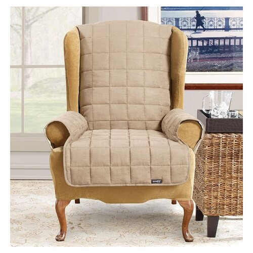 Sure-Fit Pet Wingchair/Recliner Cover