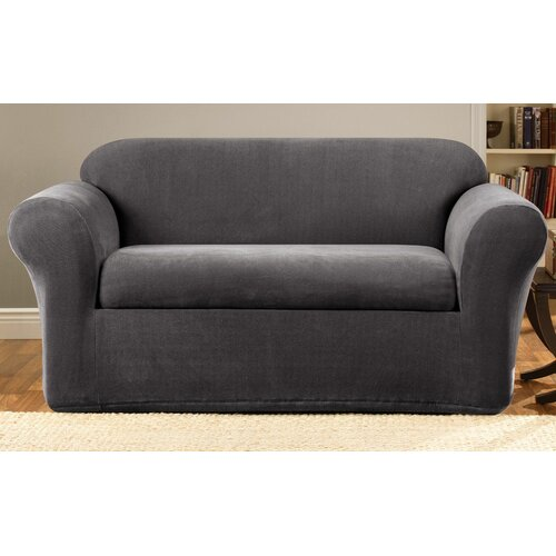 Sure Fit Stretch Metro 2-Piece Sofa Slipcover & Reviews | Wayfair