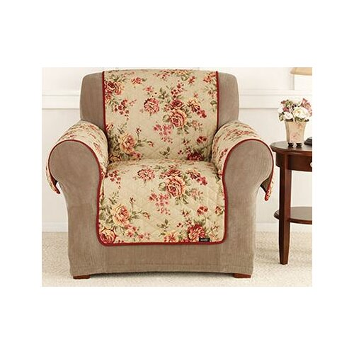 Sure-Fit Lexington Floral Pet Chair Cover