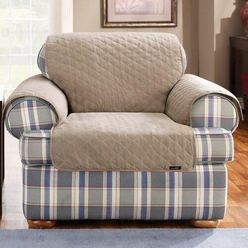 Sure-Fit Cotton Duck Furniture Friend Chair Cover