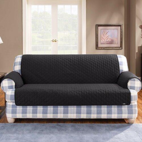 Sure-Fit Cotton Duck Furniture Friend Loveseat Cover