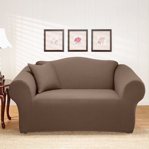 Sure-Fit Stretch Holden Loveseat Slipcover
