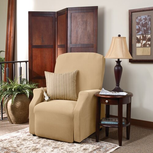 Stretch Pique Recliner Slipcover