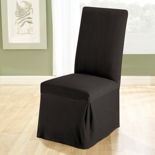 Sure-Fit Stretch Pique Dining Chair Slipcover