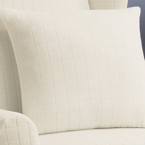 Sure-Fit Stretch Squares Pillow Slipcover