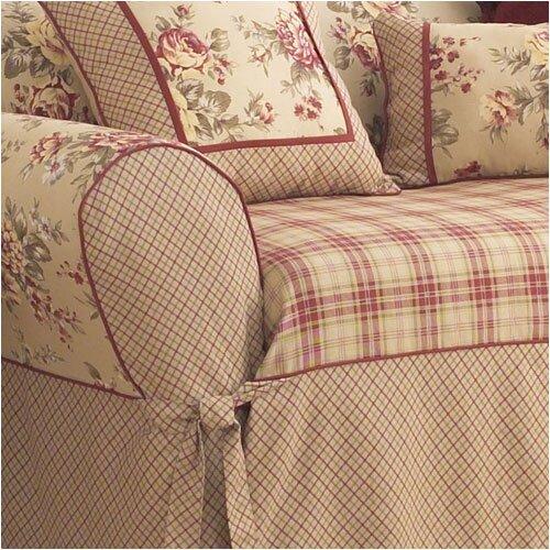 Sure-Fit Lexington Wing Chair T-Cushion Slipcover