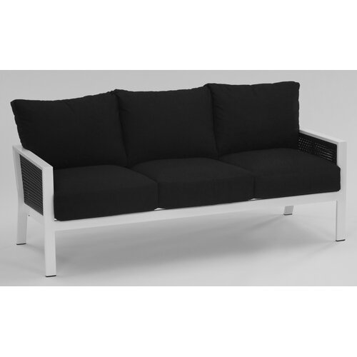 Parkview Woven Deep Seating Sofa with Cushions