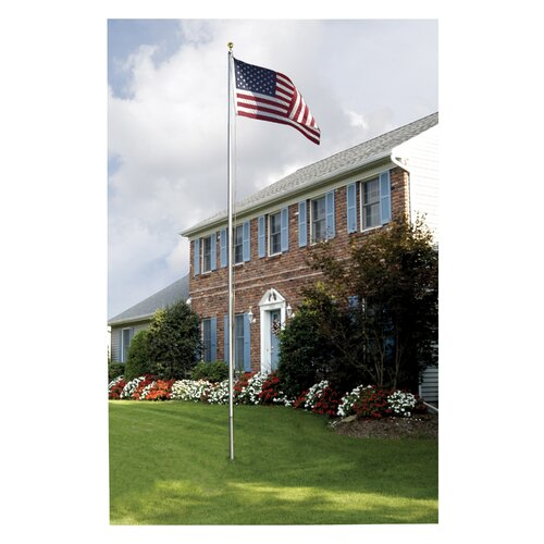 Valley Forge Flag In-Ground United States Traditional Flag Set