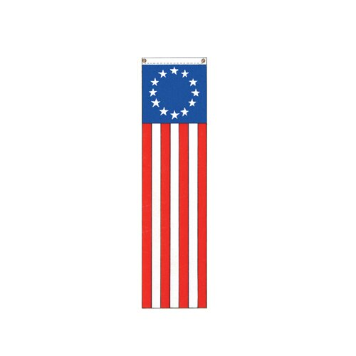 Valley Forge Flag Patriotic Colonial 13-Star Vertical Flag