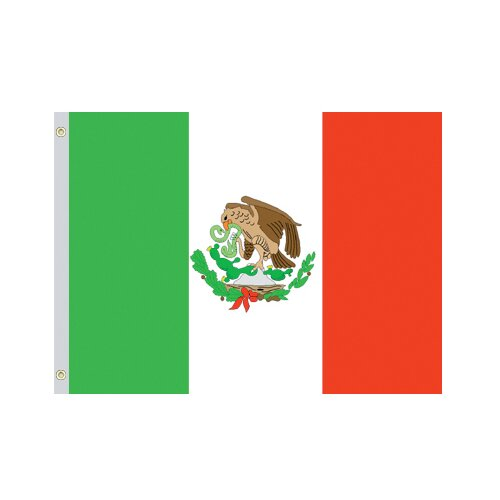 Valley Forge Flag Mexico National Traditional Flag