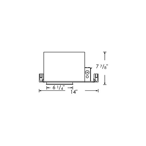 """Royal Pacific Fluorescent 6"""" Recessed Housing"""