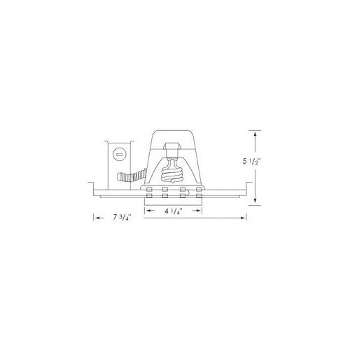 """Royal Pacific IC Airtight 4"""" Recessed Housing"""