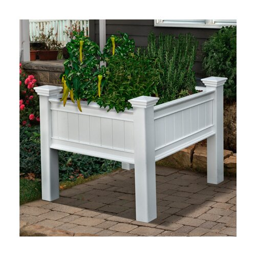 New England Arbors Mayfair Planter