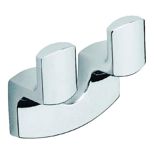 Moda Collection Movin Wall Mounted Double Robe Hook