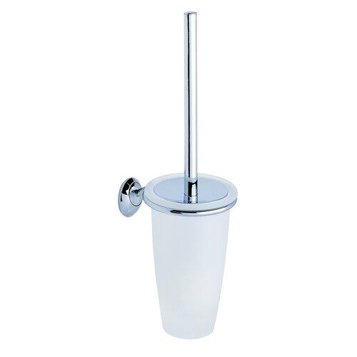 Moda Collection Stile Wall-Mount Toilet Brush Holder in Chrome
