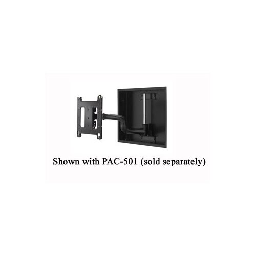 "Chief Manufacturing Reaction Series Single Articulating Arm Tilt/Swivel Universal Wall Mount for up to 65"" LCD/Plasma"