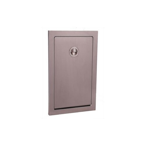 Koala Kare Products Vertical Stainless Steel Changing Station with Recess Mount