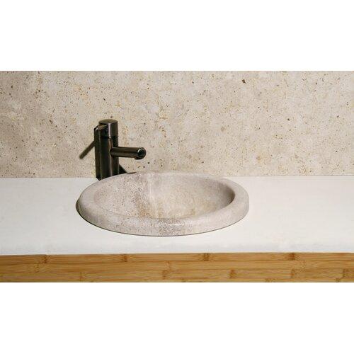 Circular Deckmount Bathroom Sink
