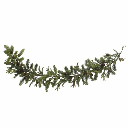 "Nearly Natural 60"" Pine & Pinecone Garland"