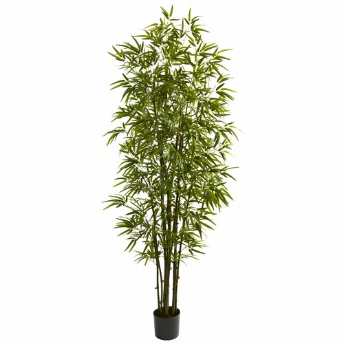 Nearly Natural Green Bamboo Tree in Pot