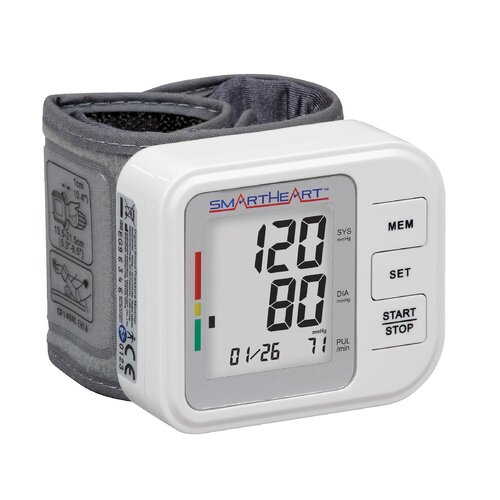 Smart Heart Automatic Digital Blood Pressure Wrist Monitor