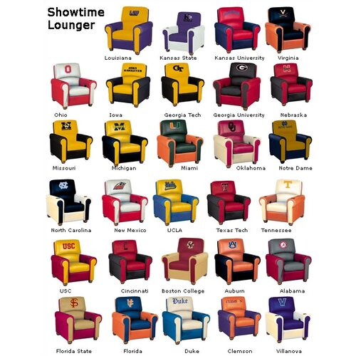 Bass Showtime Sports Team Home Theater Seating