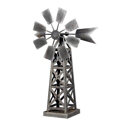 Sterling Industries Industrial Wind Mill Figurine