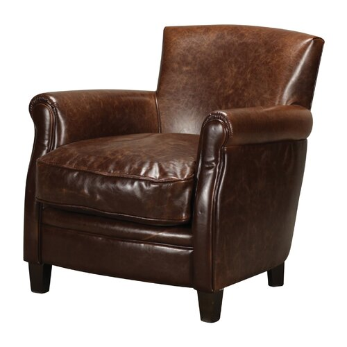 Moorings Leather Arm Chair
